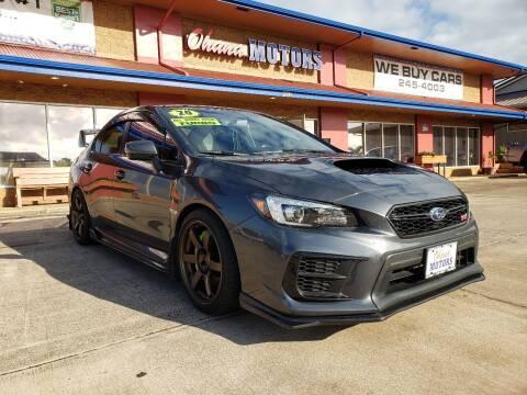 2020 Subaru WRX for sale at Ohana Motors in Lihue HI