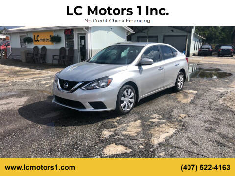 2017 Nissan Sentra for sale at LC Motors 1 Inc. in Orlando FL