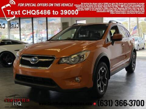 2014 Subaru XV Crosstrek for sale at CERTIFIED HEADQUARTERS in St James NY
