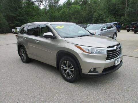2016 Toyota Highlander for sale at MC FARLAND FORD in Exeter NH