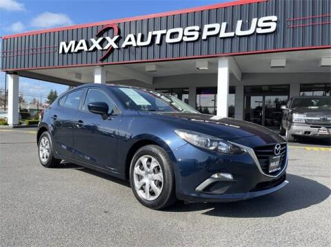 2016 Mazda MAZDA3 for sale at Maxx Autos Plus in Puyallup WA