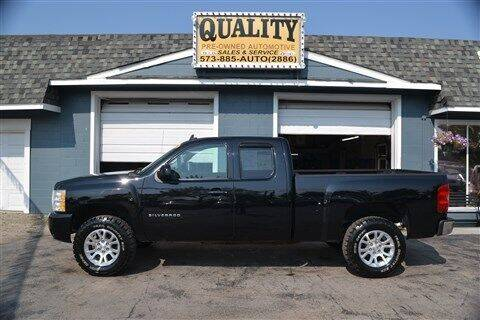 2011 Chevrolet Silverado 1500 for sale at Quality Pre-Owned Automotive in Cuba MO