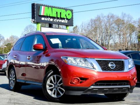2016 Nissan Pathfinder for sale at Metro Auto Credit in Smyrna GA