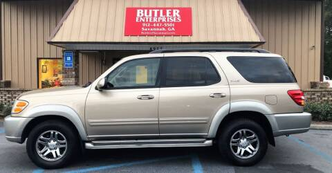 2003 Toyota Sequoia for sale at Butler Enterprises in Savannah GA