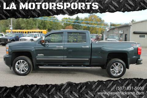 2019 Chevrolet Silverado 2500HD for sale at LA MOTORSPORTS in Windom MN