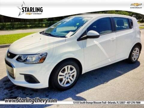 2017 Chevrolet Sonic for sale at Pedro @ Starling Chevrolet in Orlando FL