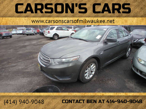 2013 Ford Taurus for sale at Carson's Cars in Milwaukee WI