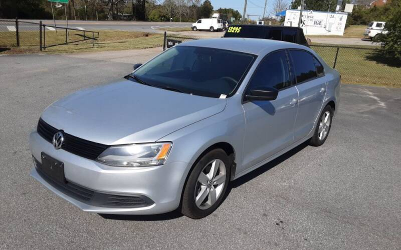 2014 Volkswagen Jetta for sale at Mathews Used Cars, Inc. in Crawford GA