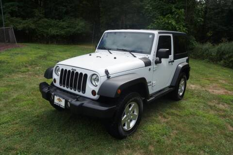 2011 Jeep Wrangler for sale at Autos By Joseph Inc in Highland NY