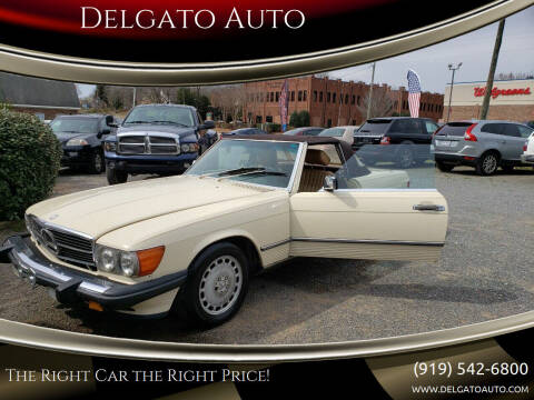 1989 Mercedes-Benz 560-Class for sale at Delgato Auto in Pittsboro NC