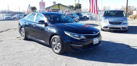 2018 Kia Optima for sale at Autosales Kingdom in Lancaster CA