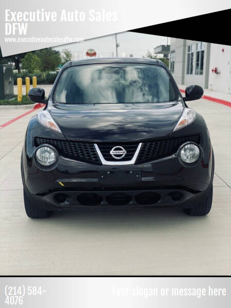 2014 Nissan JUKE for sale at Executive Auto Sales DFW in Arlington TX
