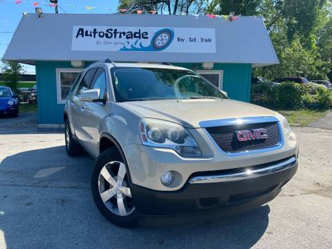 2010 GMC Acadia for sale at Autostrade in Indianapolis IN