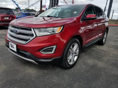 2015 Ford Edge for sale at ON THE MOVE INC in Boerne TX