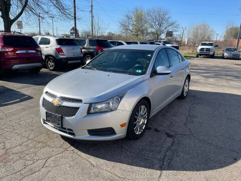 2012 Chevrolet Cruze for sale at Dean's Auto Sales in Flint MI