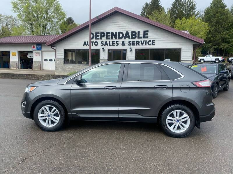2018 Ford Edge for sale at Dependable Auto Sales and Service in Binghamton NY