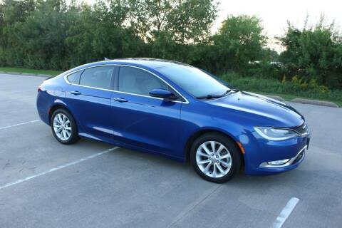2015 Chrysler 200 for sale at Clear Lake Auto World in League City TX
