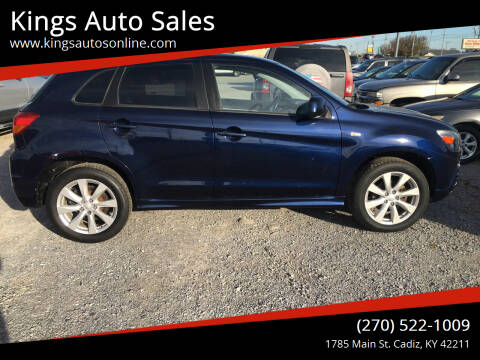 2012 Mitsubishi Outlander Sport for sale at Kings Auto Sales in Cadiz KY