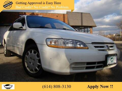2001 Honda Accord for sale at Columbus Luxury Cars in Columbus OH