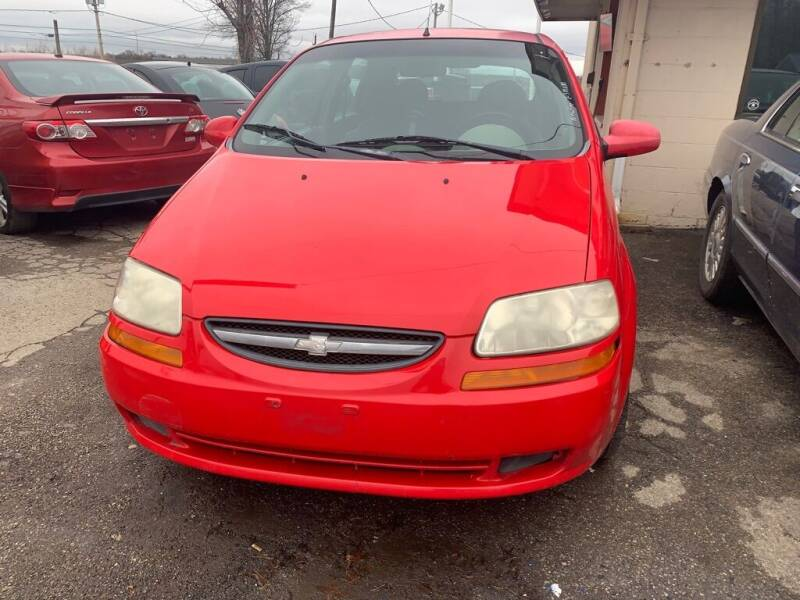 2005 Chevrolet Aveo for sale at ALVAREZ AUTO SALES in Des Moines IA
