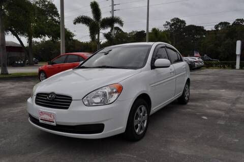 2011 Hyundai Accent for sale at STEPANEK'S AUTO SALES & SERVICE INC. in Vero Beach FL