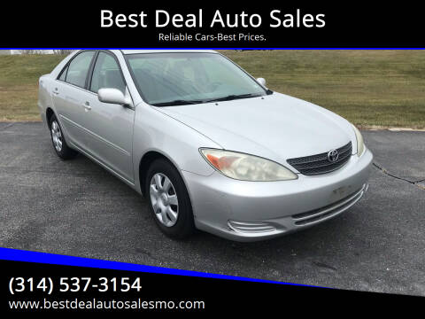 2002 Toyota Camry for sale at Best Deal Auto Sales in Saint Charles MO