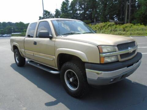 2005 Chevrolet Silverado 1500 for sale at Atlanta Auto Max in Norcross GA