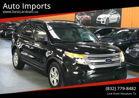 2013 Ford Explorer for sale at Auto Imports in Houston TX