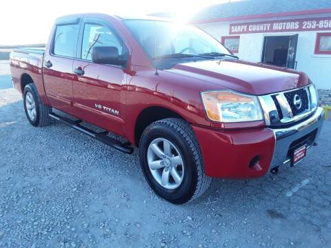 2012 Nissan Titan for sale at Sarpy County Motors in Springfield NE