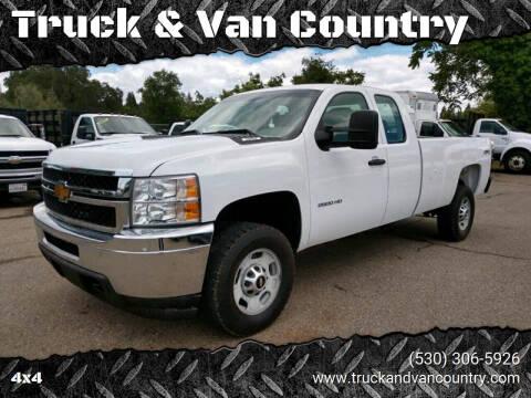 2013 Chevrolet Silverado 2500HD for sale at Truck & Van Country in Shingle Springs CA