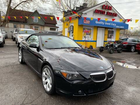 2007 BMW 6 Series for sale at C & M Auto Sales in Detroit MI