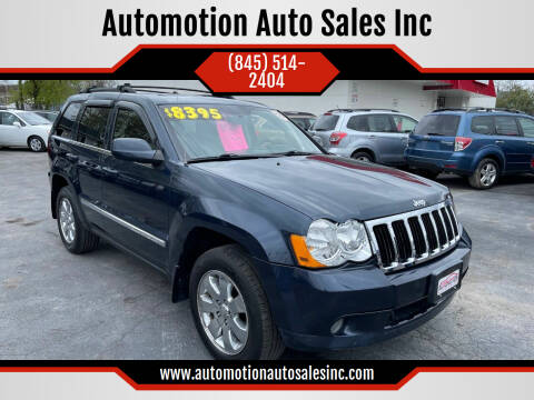 2008 Jeep Grand Cherokee for sale at Automotion Auto Sales Inc in Kingston NY