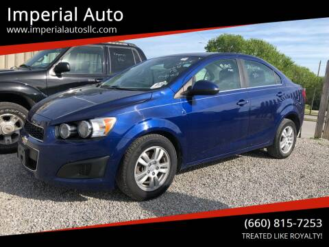 2013 Chevrolet Sonic for sale at Imperial Auto of Marshall in Marshall MO