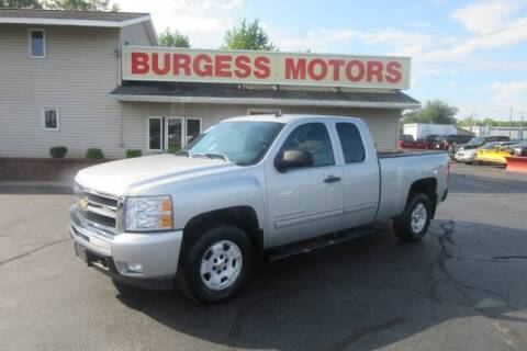2011 Chevrolet Silverado 1500 for sale at Burgess Motors Inc in Michigan City IN
