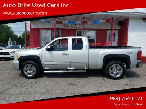 2011 Chevrolet Silverado 1500 for sale at Auto Brite Used Cars Inc in Saginaw MI