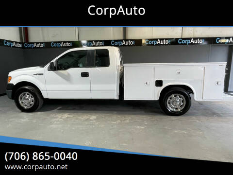 2013 Ford F-150 for sale at CorpAuto in Cleveland GA