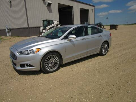 2015 Ford Fusion for sale at Nore's Auto & Trailer Sales - Vehicles in Kenmare ND