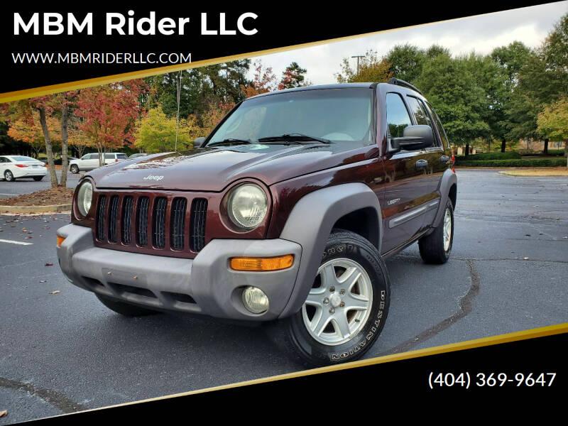 2004 Jeep Liberty for sale at MBM Rider LLC in Alpharetta GA