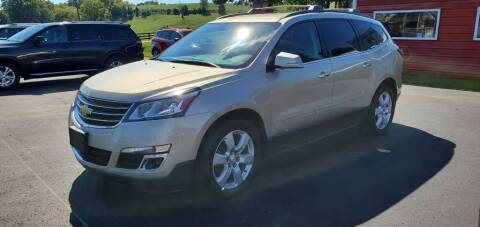 2016 Chevrolet Traverse for sale at Gallia Auto Sales in Bidwell OH