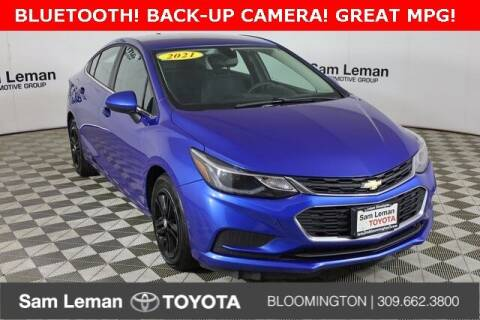 2017 Chevrolet Cruze for sale at Sam Leman Toyota Bloomington in Bloomington IL
