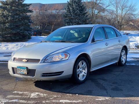 2012 Chevrolet Impala for sale at North Imports LLC in Burnsville MN