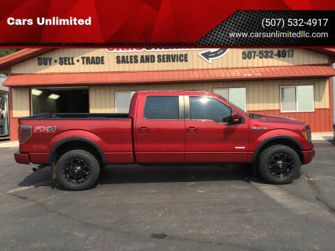 2013 Ford F-150 for sale at Cars Unlimited in Marshall MN
