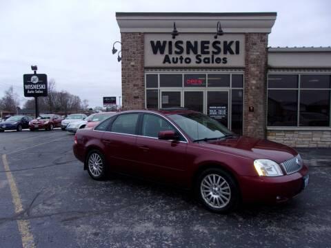 2005 Mercury Montego for sale at Wisneski Auto Sales, Inc. in Green Bay WI