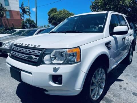 2012 Land Rover LR2 for sale at Meru Motors in Hollywood FL