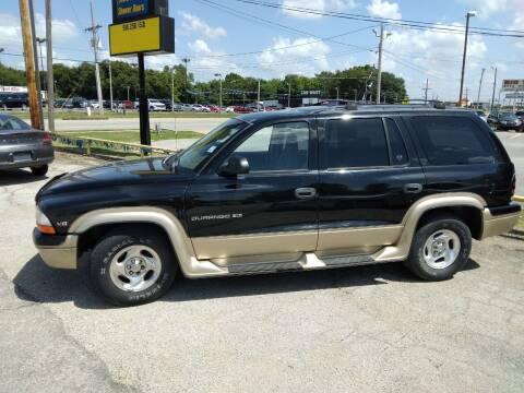 1999 Dodge Durango for sale at Friendship Auto Sales in Broken Arrow OK