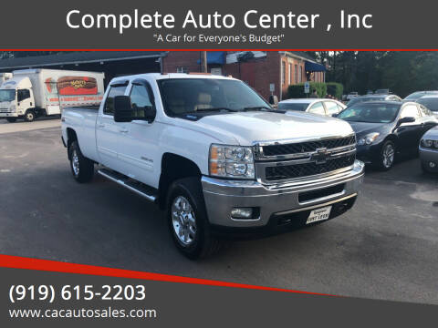 2011 Chevrolet Silverado 3500HD for sale at Complete Auto Center , Inc in Raleigh NC