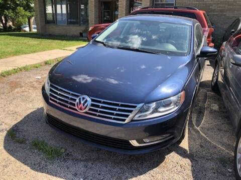2013 Volkswagen CC for sale at NORTH CHICAGO MOTORS INC in North Chicago IL