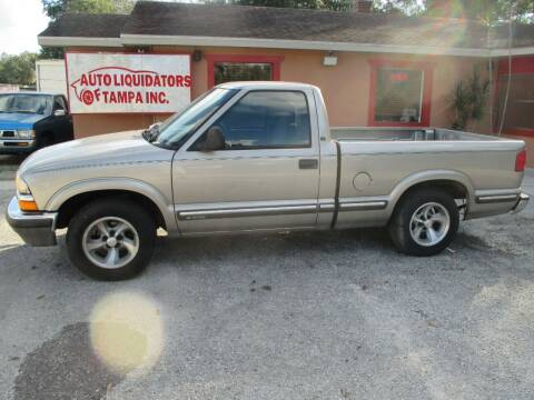 1998 Chevrolet S-10 for sale at Auto Liquidators of Tampa in Tampa FL