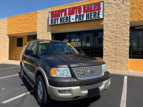 2006 Ford Expedition for sale at Marys Auto Sales in Phoenix AZ