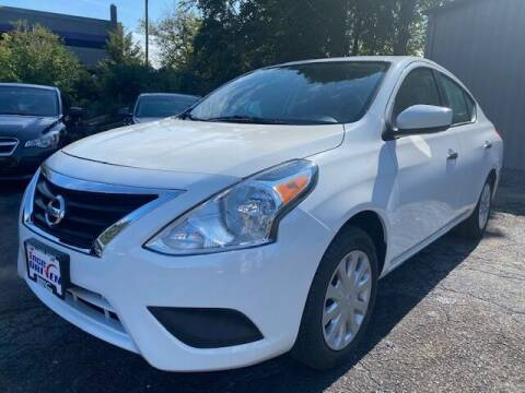 2019 Nissan Versa for sale at 1NCE DRIVEN in Easton PA